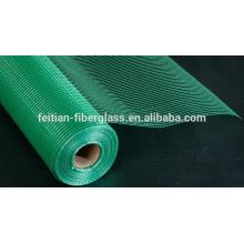 Щелочная сетка из стекловолокна 160 г зеленого цвета