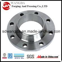 Bridas de acero forjado de carbono Uni 2286 Weld Neck