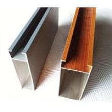 Perfil de aluminio industrial de alta resistencia personalizado de aluminio