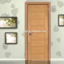 Portas interiores de madeira design simples