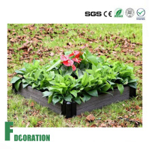 Beautiful Kitchen Garden - Black WPC Raised Beds Planter