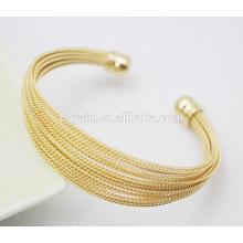 Fashion Indian Gold 316L Edelstahl Zubehör für Frauen Armband