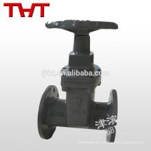 upvc forjó la animación de la válvula de compuerta de la rueda de cadena del eje de acero forjado