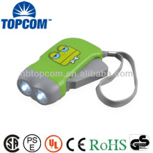 Beste Qualität energiesparende Hand drücken Taschenlampe