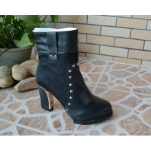 New Style Knöchel High Heel Damen Kleid Stiefel (HCY02-790)