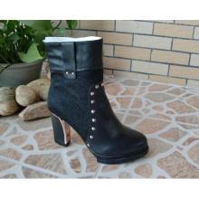 Novo estilo tornozelo mulheres de salto alto botas de vestido (hcy02-790)