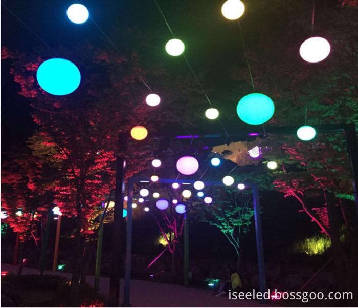 Garden light DMX hanging ball