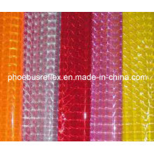 Lámina reflexiva del PVC prismático de la impresión digital