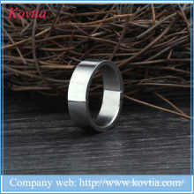2015 neue Produkte Titan Stahl Männer Ring Titan Silber 316l Edelstahl Ringe
