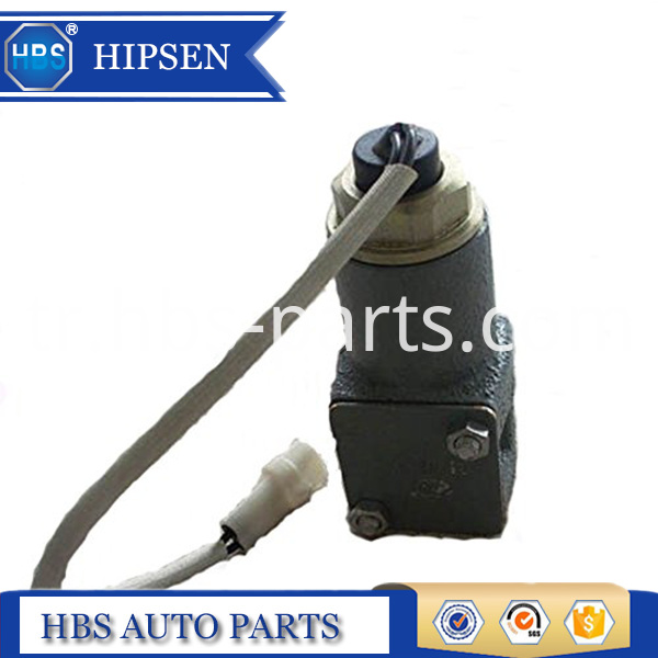 Excavator High Speed Solenoid Valve