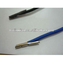 Corde élastiques élastique avec extrémité en métal