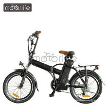 MOTORLIFE / OEM marca venda quente elétrico ebike 20 polegada elétrica moto bicicleta em casa