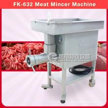 Máquina de picadora de carne de acero inoxidable, máquina de picadura de cordero Fk-632