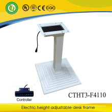 Höhenverstellbarer Metalltisch / Tischbeine mit 3 Säulen und elektrisch höhenverstellbarem Hubtisch