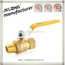 brass gas ball valve for pex tube