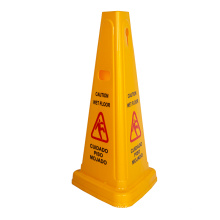 Yellow Warning Sign Caution Wet Floor Cone No Parking Warning Cone