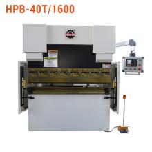 Prensa dobradeira hidráulica com controlador Estun E21 NC