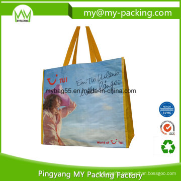 Eco Friendly Handle Carry Shopping PP Laminated Promotion Bag