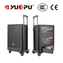 Portable PA Speaker with SD, USB and Two Wireless Mics