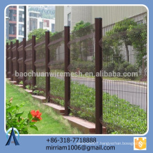 High-grade Long Working Life and High Security Outdoor Metal Fence/ Triangular Bending Fence