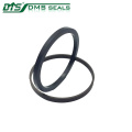 bronze PTFE rotary seal for hydraulic cylinder sealing GNS