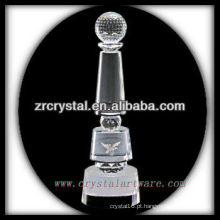 design atraente em branco troféu de cristal X072