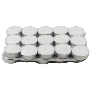 4 jam Aluminium tea light Velas candle holder