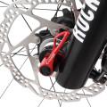 Brochette à vélo en titane à levée rapide 2016 essieu pivotant en titane à broche rapide 3 couleurs
