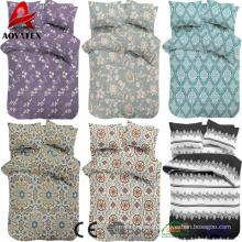 Conjuntos baratos do comforter das crianças, algodão ajustado ajustado do fundamento das crianças