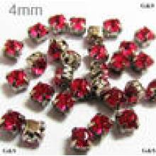 Mini perles en cristal de confettis en diamant acrylique pour décoration de maison