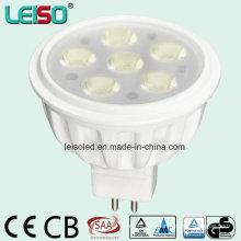 Стандартный размер 500lm MR16 Светодиодный прожектор (LS-S505-MR16-NWW / NW)