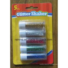 Shaker brillo para la fuente de papelería DIY