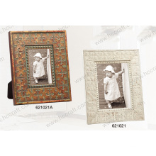 Wooden Gesso Frame Art in 2 Colors