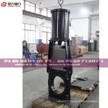 Vannes à guillotine à boue dans les applications hautement abrasives