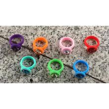 Assorted Silicone Diamond Bracelets