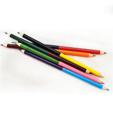 crayon de couleur double face en bois pas cher