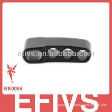 Boucle d'ajustement métallique solide pour bracelet paracord