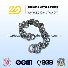 Casting d'Inevstment d'alliage d'acier résistant à la chaleur d'OEM pour le fourneau de ciment