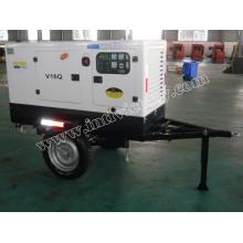 Generador diesel de 10kVA ~ 50kVA Yangdong con el remolque móvil