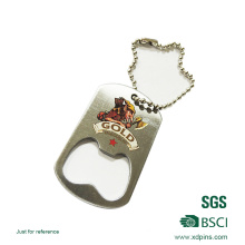 Metal Bottle Opener and Keychain for Promotional Gift