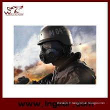 M04 tactique plein visage masque à gaz militaire utilisation pour Wargame