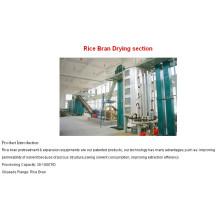 30-200TPD Máquina de óleo de farelo de arroz contínuo e semi-contínuo - planta de processamento de óleo de farelo de arroz