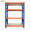 Medium duty boltless bulk storage industrial plate rack