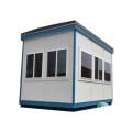 Cabine de trafic de salle de billets de sentinelle mobile de petite taille de maison de garde populaire