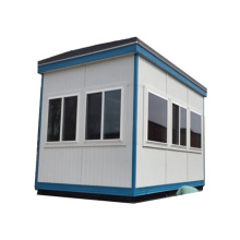 Popular guard house small size mobile sentry ticket room traffic box booth