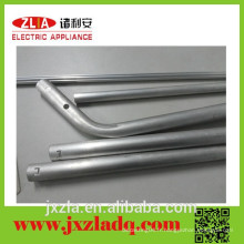 Vente en usine de tubes / tuyaux en aluminium filetés durables