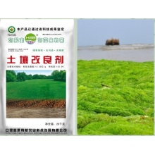 Seaweed bio Microbial base organic fertilizer with amino acid for soil conditioner