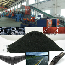 Ligne de recyclage de pneus 500-1000kg / H