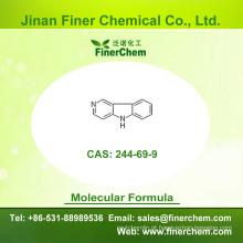 Cas 244-69-9 | 3-Azacarbazole | 5H-Pirido [4,3-b] indole | Gama-Carbolina | | 244-69-9 | preço de fábrica; Grande estoque