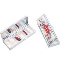 Caixa da medicina do comprimido da promoção, caixa da pílula da medicina com 6 casos